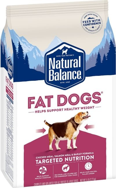 Natural Balance Fat Dogs Chicken & Salmon Low Calorie