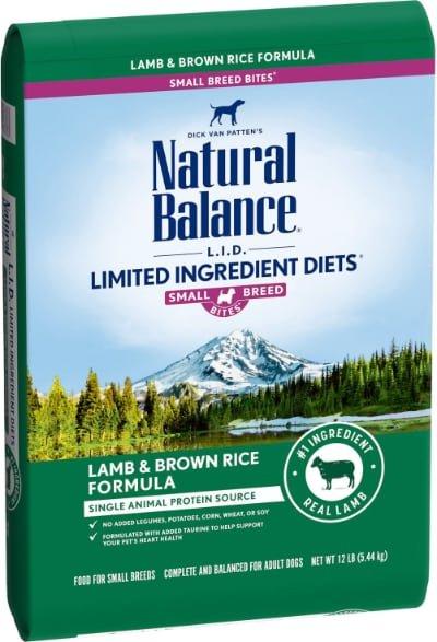 Natural Balance LID Lamb Brown Rice Formula Small Breed