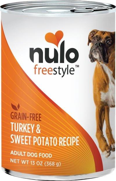 Nulo Freestyle Turkey & Sweet Potato Grain-Free Canned