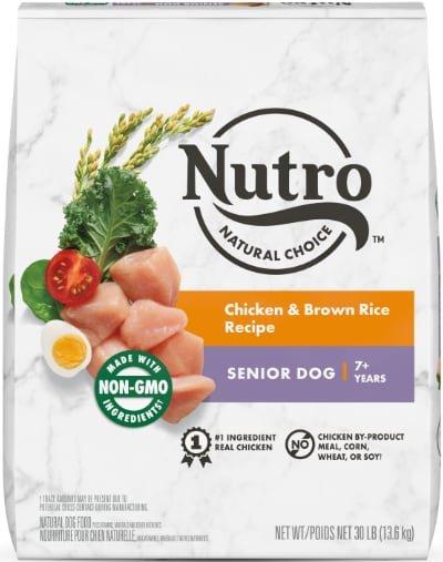 Nutro Natural Choice Senior Chicken & Brown Rice
