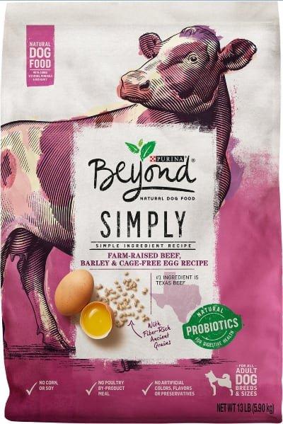 Purina Beyond Simply Farm Raised Beef & Egg