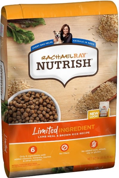 Rachael Ray Nutrish Limited Ingredient Lamb Meal & Brown Rice