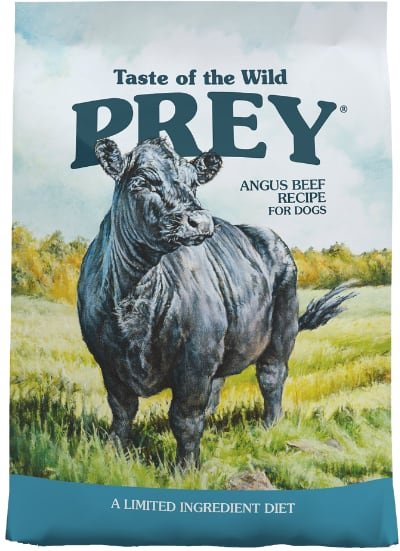 Taste of the Wild PREY Angus Beef Recipe Limited Ingredient