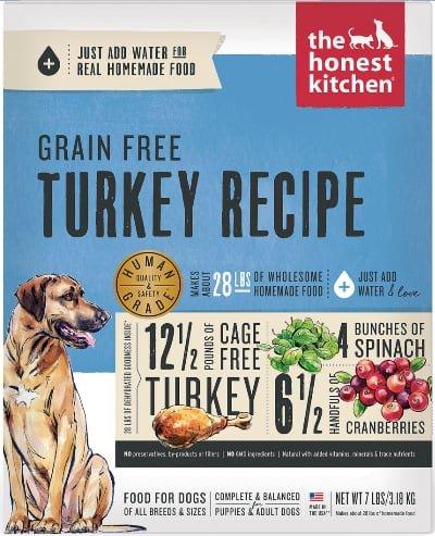 The Honest Kitchen Turkey Grain Free Dehydrated