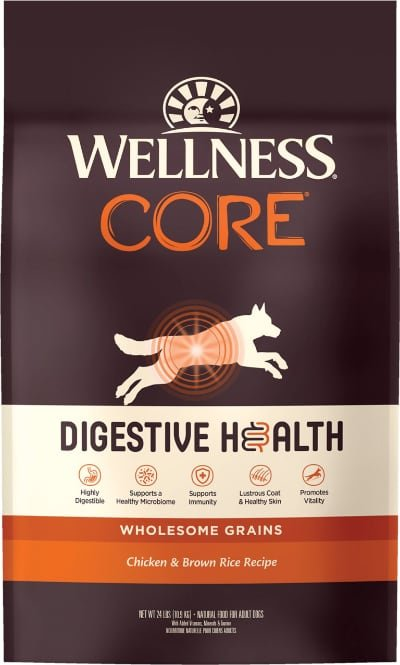 Wellness CORE Digestive Health Wholesome Grains Chicken & Brown