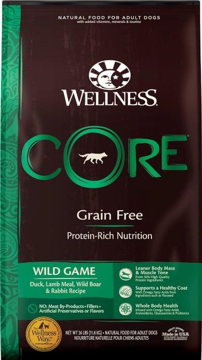 Wellness CORE Grain-Free Wild Game Duck