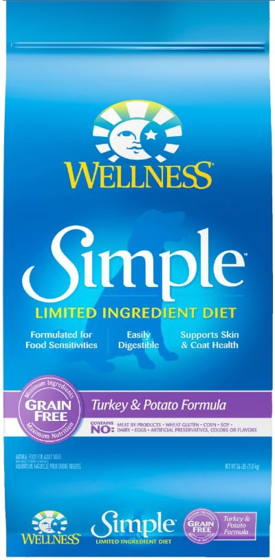 Wellness Simple Limited Ingredient Diet Grain-Free Turkey & Potato