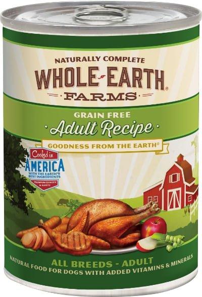 Whole Earth Farms Grain-Free Canned