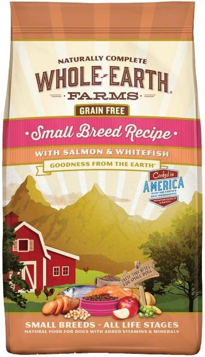 Whole Earth Farms Small Breed Grain-Free Salmon & Whitefish