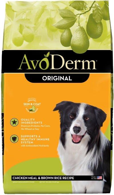 AvoDerm Original Chicken Meal & Brown Rice