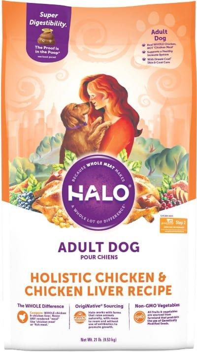 Halo Holistic Chicken & Chicken Liver