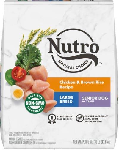 Nutro Natural Choice Large Breed Senior Chicken