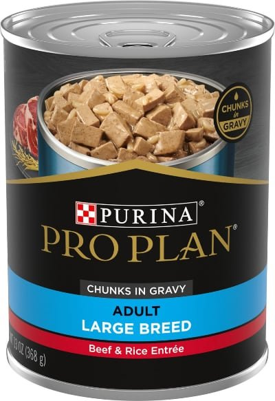 Purina Pro Plan Adult Large Breed Beef Canned