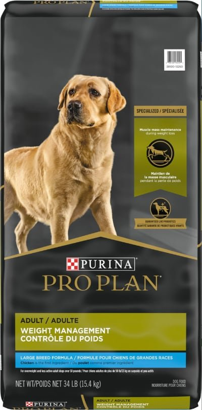 Purina Pro Plan Adult Large Breed Weight Management Chicken