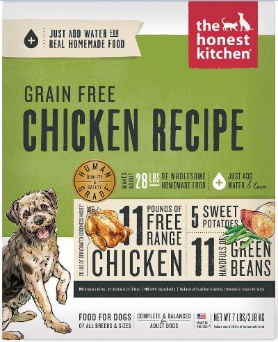 The Honest Kitchen Chicken Recipe Grain-Free Dehydrated